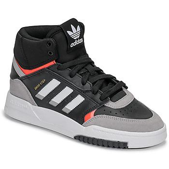 Sapatos Rapaz Sapatilhas adidas Originals DROP STEP J Preto / Cinza