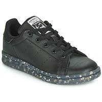 Sapatos Criança Sapatilhas adidas Originals STAN SMITH C Preto