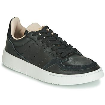 Sapatos Criança Sapatilhas adidas Originals SUPERCOURT J Preto