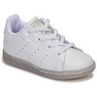 Sapatos Rapariga Sapatilhas adidas Originals STAN SMITH EL I Branco / Glitter