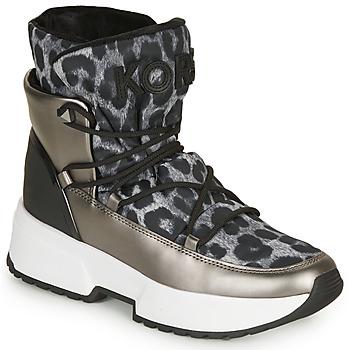 Sapatos Mulher Botas de neve MICHAEL Michael Kors CASSIA BOOTIE Leopardo