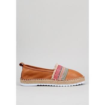 Sapatos Mulher Alpargatas Krack  Castanho