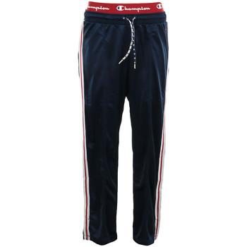 Textil Mulher Calças de treino Champion Straight Hem Pants Azul