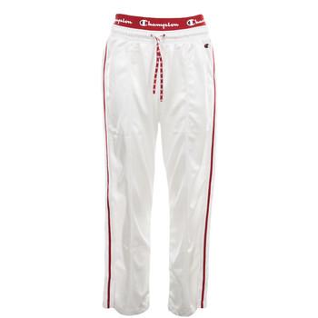 Textil Mulher Calças de treino Champion Straight Hem Pants Branco