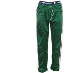 Textil Mulher Calças de treino Champion Straight Hem Pants Verde