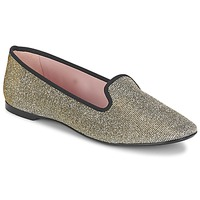 Sapatos Mulher Sabrinas Pretty Ballerinas FAYE Metálico / Shine