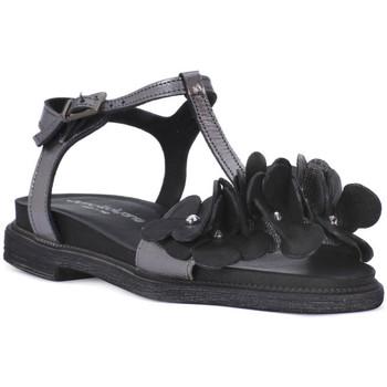 Sapatos Mulher Sandálias Sono Italiana NERO LAMINATO Nero
