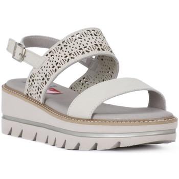 Sapatos Mulher Sandálias CallagHan GREIGE LONG BEACH Grigio