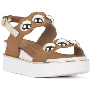 Sapatos Mulher Sandálias Sono Italiana CRATS CUOIO Marrone