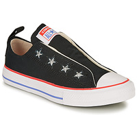 Sapatos Rapariga Sapatilhas Converse CHUCK TAYLOR ALL STAR TEEN SLIP CANVAS COLOR - SLIP Preto