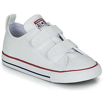 Sapatos Criança Sapatilhas Converse CHUCK TAYLOR ALL STAR 2V - OX Branco