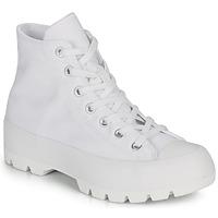 Sapatos Mulher Sapatilhas de cano-alto Converse CHUCK TAYLOR ALL STAR LUGGED BASIC CANVAS Branco