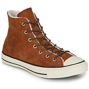 Sapatos Mulher Sapatilhas de cano-alto Converse CHUCK TAYLOR ALL STAR - HI Castanho