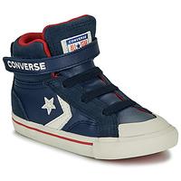 Sapatos Criança Sapatilhas de cano-alto Converse PRO BLAZE STRAP - HI Navy