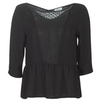 Textil Mulher Tops / Blusas Betty London LADY Preto