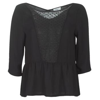 Textil Mulher Tops / Blusas Betty London LADY Preto