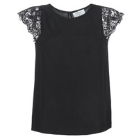 Textil Mulher Tops / Blusas Betty London LONDON Preto