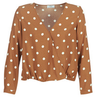 Textil Mulher Tops / Blusas Betty London LOUISIANA Camel