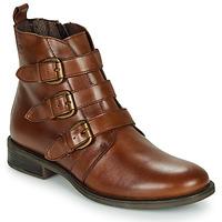 Sapatos Mulher Botas baixas Betty London LENA Conhaque