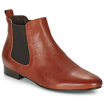 Sapatos Mulher Botas baixas Betty London HYBA Conhaque