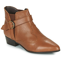 Sapatos Mulher Botas baixas Betty London LYDWINE Conhaque