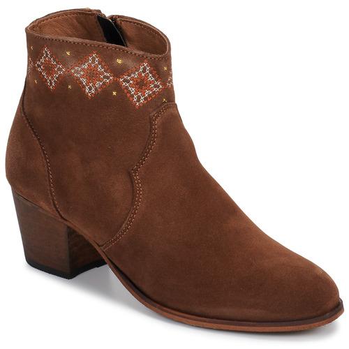 Sapatos Mulher Botins Betty London LAURE-ELISE Camel