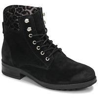 Sapatos Mulher Botas baixas Betty London LIVIANE Preto