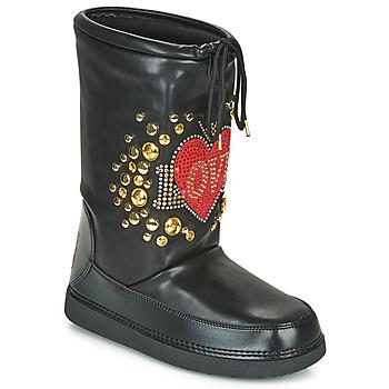 Sapatos Mulher Botas de neve Love Moschino SKI BOOT Preto