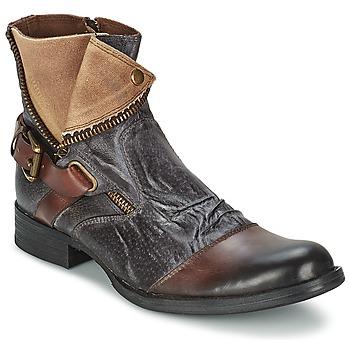 Sapatos Homem Botas baixas Kdopa DETROIT Castanho