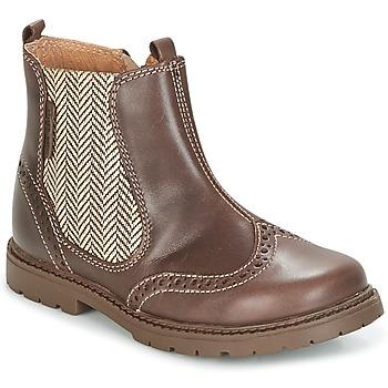 Sapatos Criança Botas baixas Start Rite DIGBY Castanho