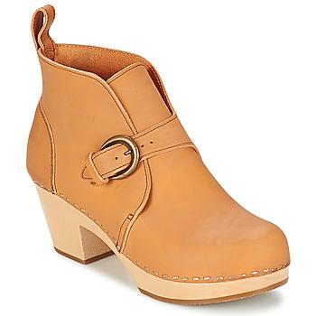 Sapatos Mulher Botins Swedish hasbeens PETRA Natural