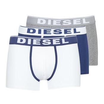 Roupa de interior Homem Boxer Diesel DAMIEN Branco / Marinho / Cinza
