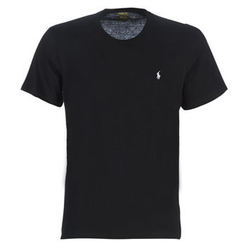 Textil Homem T-Shirt mangas curtas Polo Ralph Lauren S/S CREW-CREW-SLEEP TOP Preto