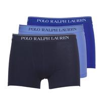 Roupa de interior Homem Boxer Polo Ralph Lauren CLASSIC-3 PACK-TRUNK Azul
