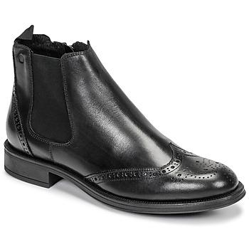 Sapatos Homem Botas baixas Carlington LEVOTO Preto