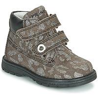 Sapatos Rapariga Botas baixas Primigi ASPY 1 Cinza / Prateado