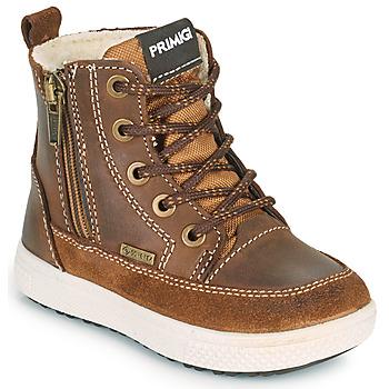 Sapatos Rapaz Botas baixas Primigi BARTH GORE-TEX Castanho