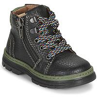 Sapatos Rapaz Botas baixas Primigi PLAY TRACK Preto