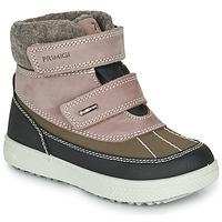Sapatos Rapariga Botas baixas Primigi PEPYS GORE-TEX Rosa / Castanho