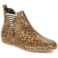 Sapatos Mulher Botas baixas Ippon Vintage PATCH ARTY Camel
