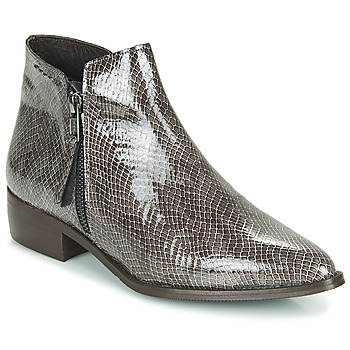 Sapatos Mulher Botas baixas Ippon Vintage STING HILL Cinza / Verniz