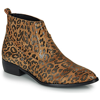 Sapatos Mulher Botas baixas Ippon Vintage GILL ARTY Camel