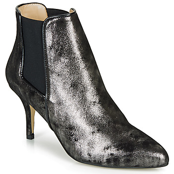 Sapatos Mulher Botins Ippon Vintage SILVER LAKE Preto / Prata