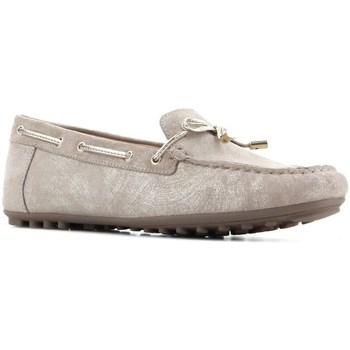 Sapatos Mulher Sapato de vela Geox D Leelyan Cor bege