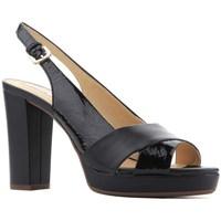 Sapatos Mulher Sandálias Geox D Mauvelle Preto