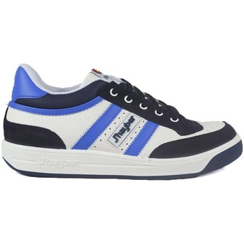 Sapatos Homem Fitness / Training  J´hayber Zapatillas  Pegasus Blanco-Marino-Royal Azul
