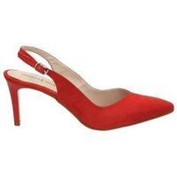 Sapatos Mulher Escarpim Daniela Vega Sapatos  1068 senhora vermelho rouge