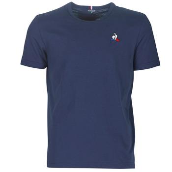 Textil Homem T-Shirt mangas curtas Le Coq Sportif ESS TEE SS N°2 M Azul / Marinho