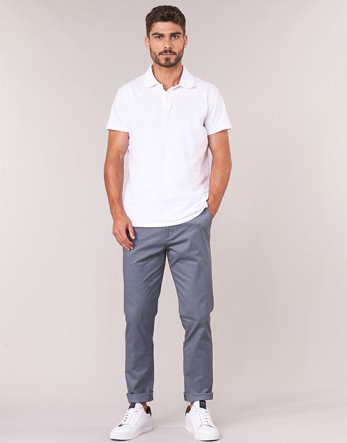 Textil Homem Chinos Selected SLHSLIM Cinza