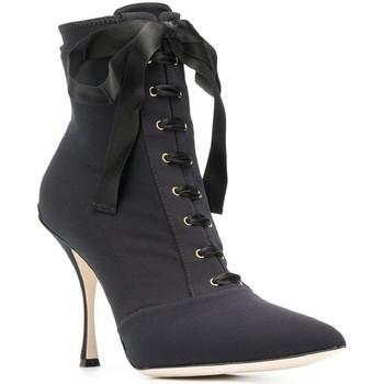 Sapatos Mulher Botins D&G CT0471 AZ161 nero